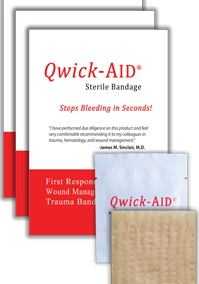 Quick Aid – Hemostatic Dressing