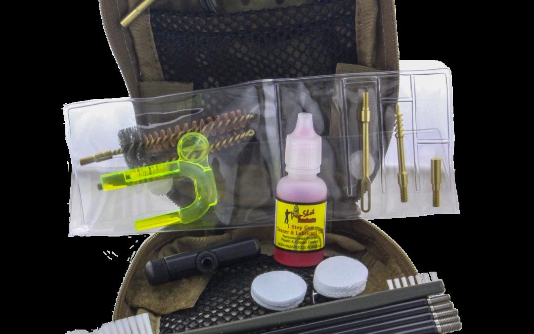 Pro Shot Tactical Gun and Optics Cleaning Kits
